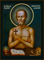 Преподобный Иоанн Печерский, Многострадальный, икона (арт.м659)