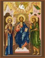 Деисус, икона (арт.м0670)