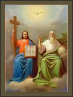 Новозаветная Троица, икона (арт.м0675)