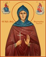 Преподобномученица Екатерина Черкасова, послушница, икона (арт.м0679)