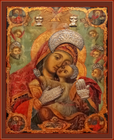 Сайданайская икона Пресвятой Богородицы (арт.м0680)