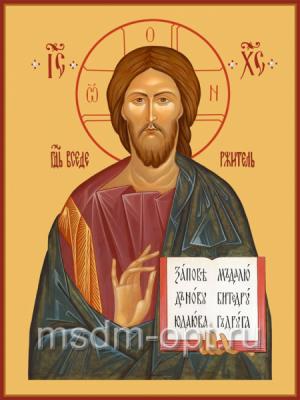 Господь Вседержитель икона 300 х 400 мм (арт.105-00126)
