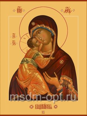 Владимирская икона Божией Матери, размер 300 х 400 мм (арт.105-00302)